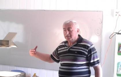 לקראת פתיחת כיתת מופת ארחנו את פרופסור טריגרמן ושמענו הרצאה בנושא פיזיקה לכיתות ו' ז'ח'