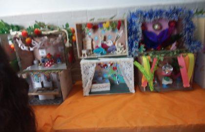 תערוכת סוכות יוצאת לדרך. הילדים יוצרים יצירות מדהימות.