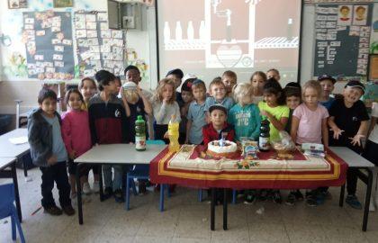 מזל טוב לישראל זבולונוב מכיתה א' ליום הולדתו עד מאה ועשרים שנים בריאות ושמחות.