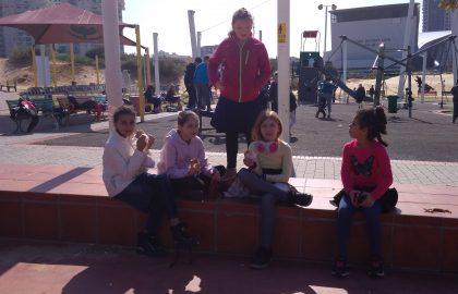 יצאנו היום לפארק אשדוד ים. נהננו מאד!