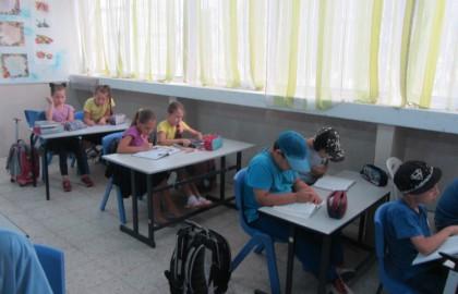 כיתה ב' הצליחה במבחני מיצב בעברית כל הכבוד!!