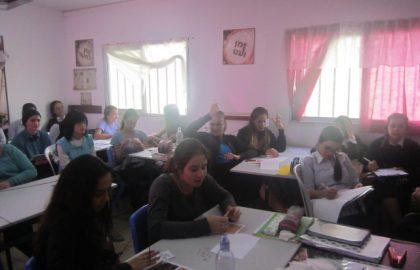 כיתה ז לומדת על ספרות השואה